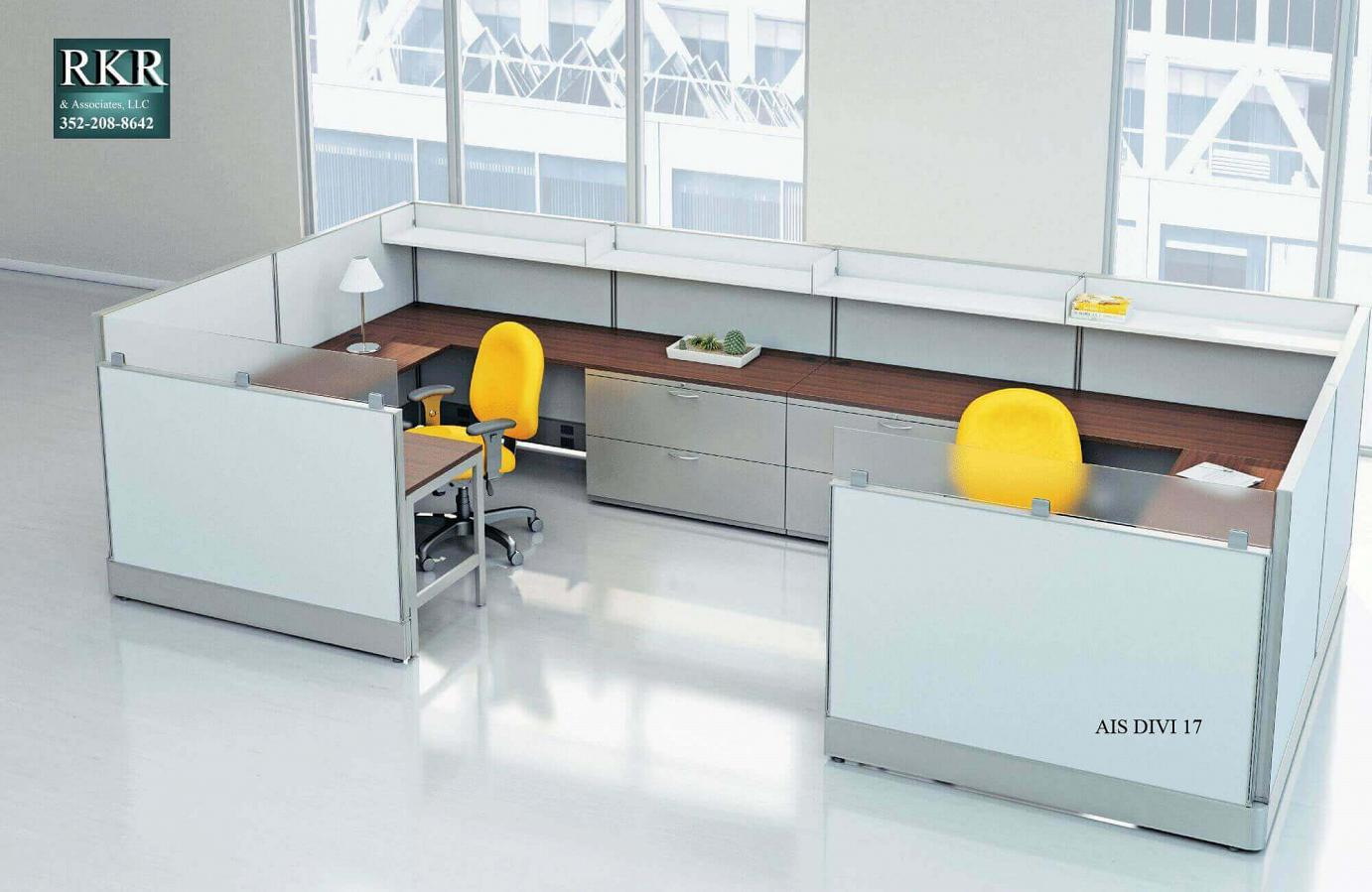 OFFICE PANELS WORKSTATION CUBES 17
