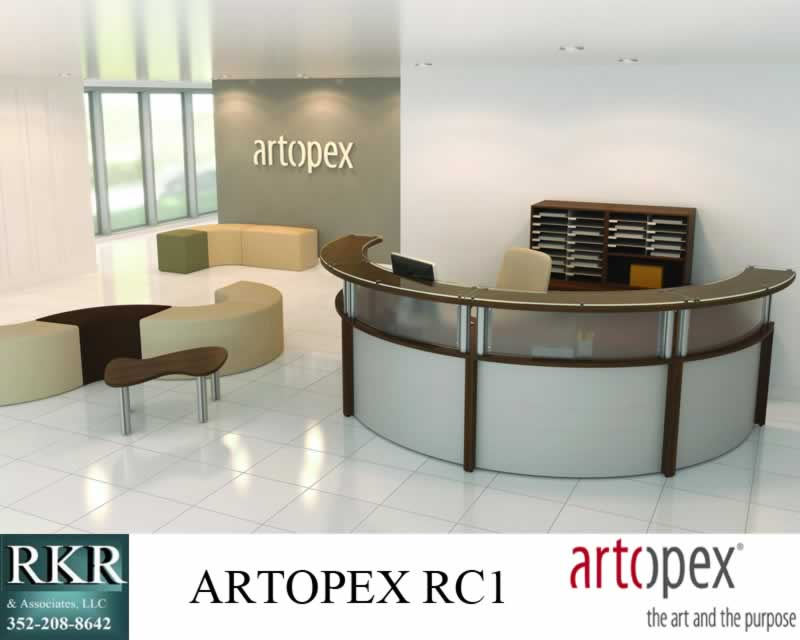 RECIPTIONIST GREETER DESK ARTOPEX RC1