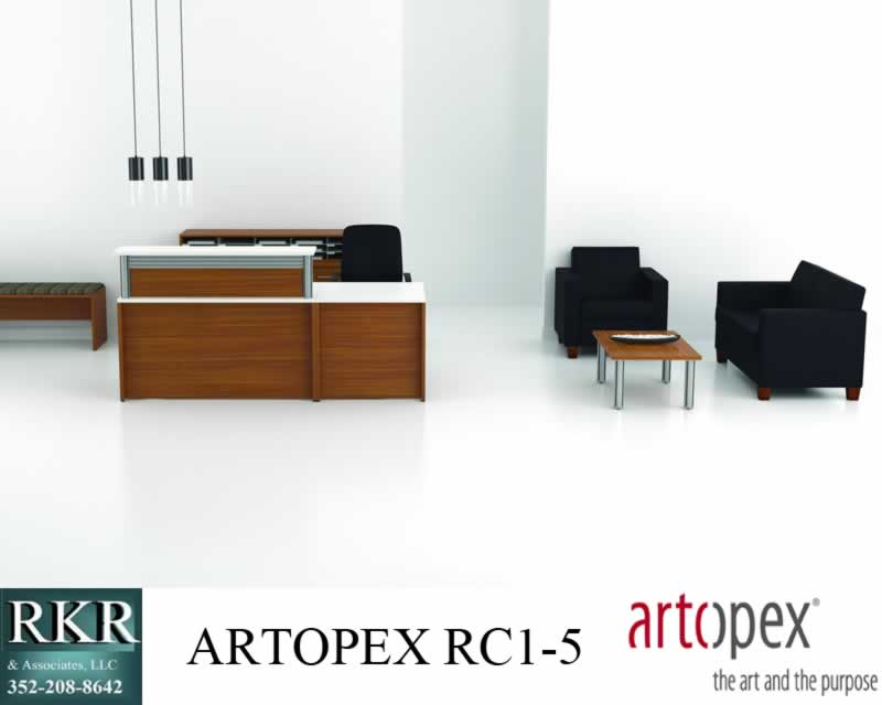 GREETER RECEPTION DESK OCALA ARTOPEX RC