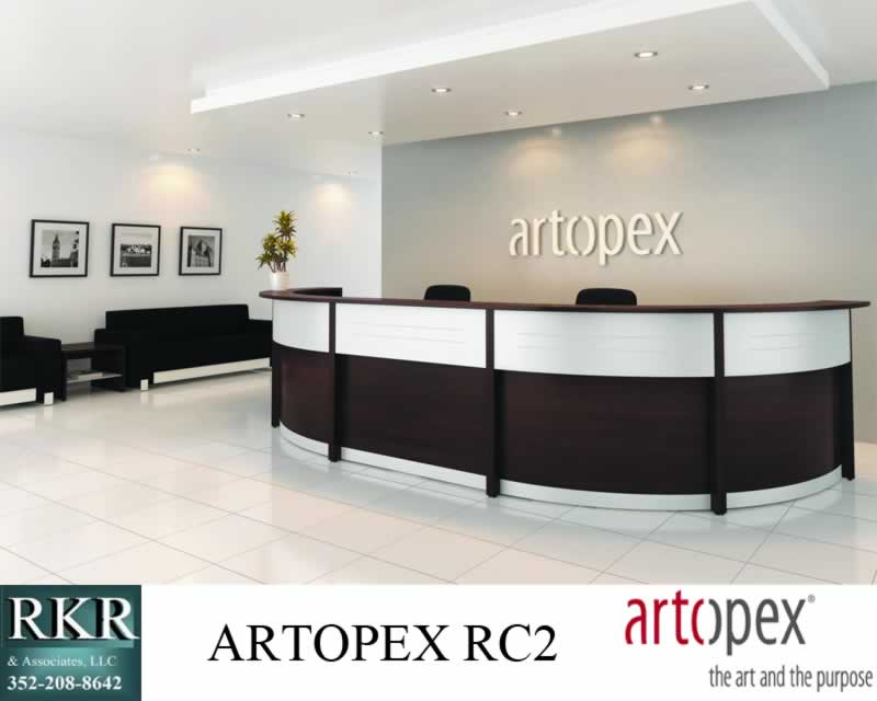 RECEPTIONIST DESK ARTOPEX RC2