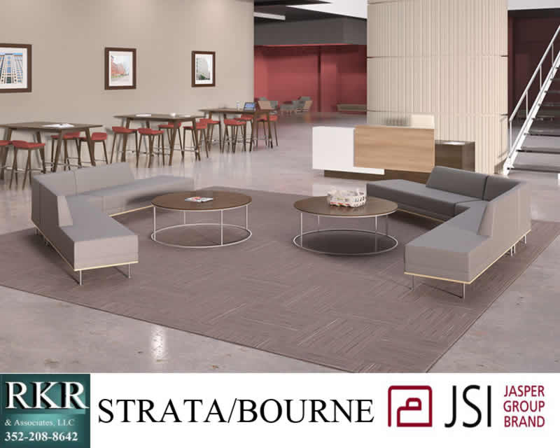 Reception desk Waiting area JSI